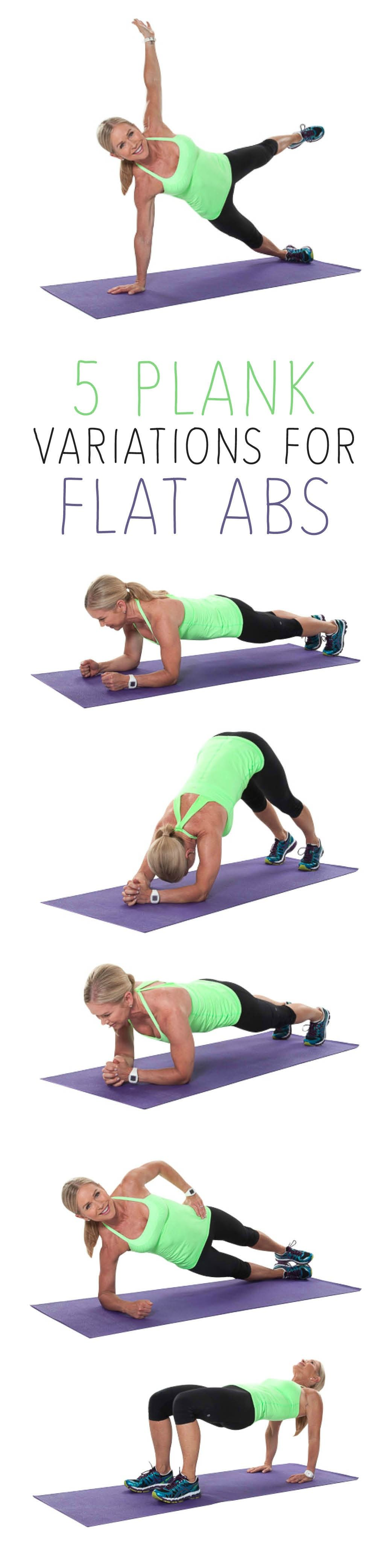 Plank your way to flat abs by spring break! #workout #core