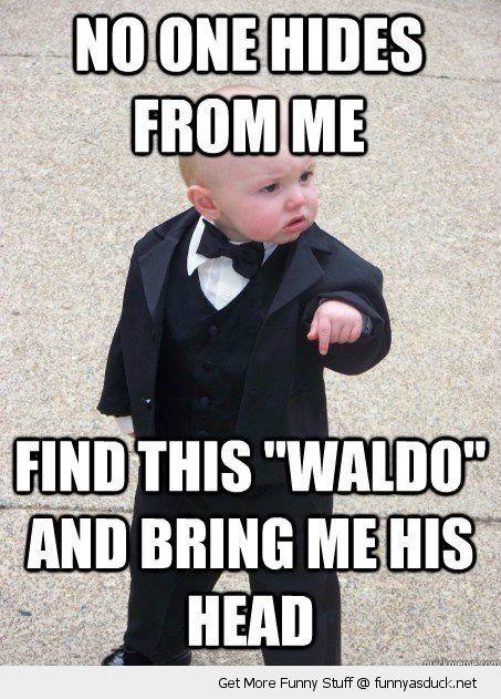 Funny Gangster Baby Kid Meme Find Wheres Waldo Wally Pics Jpg 453 631 Pixels Library Memes Library Humor Book Humor