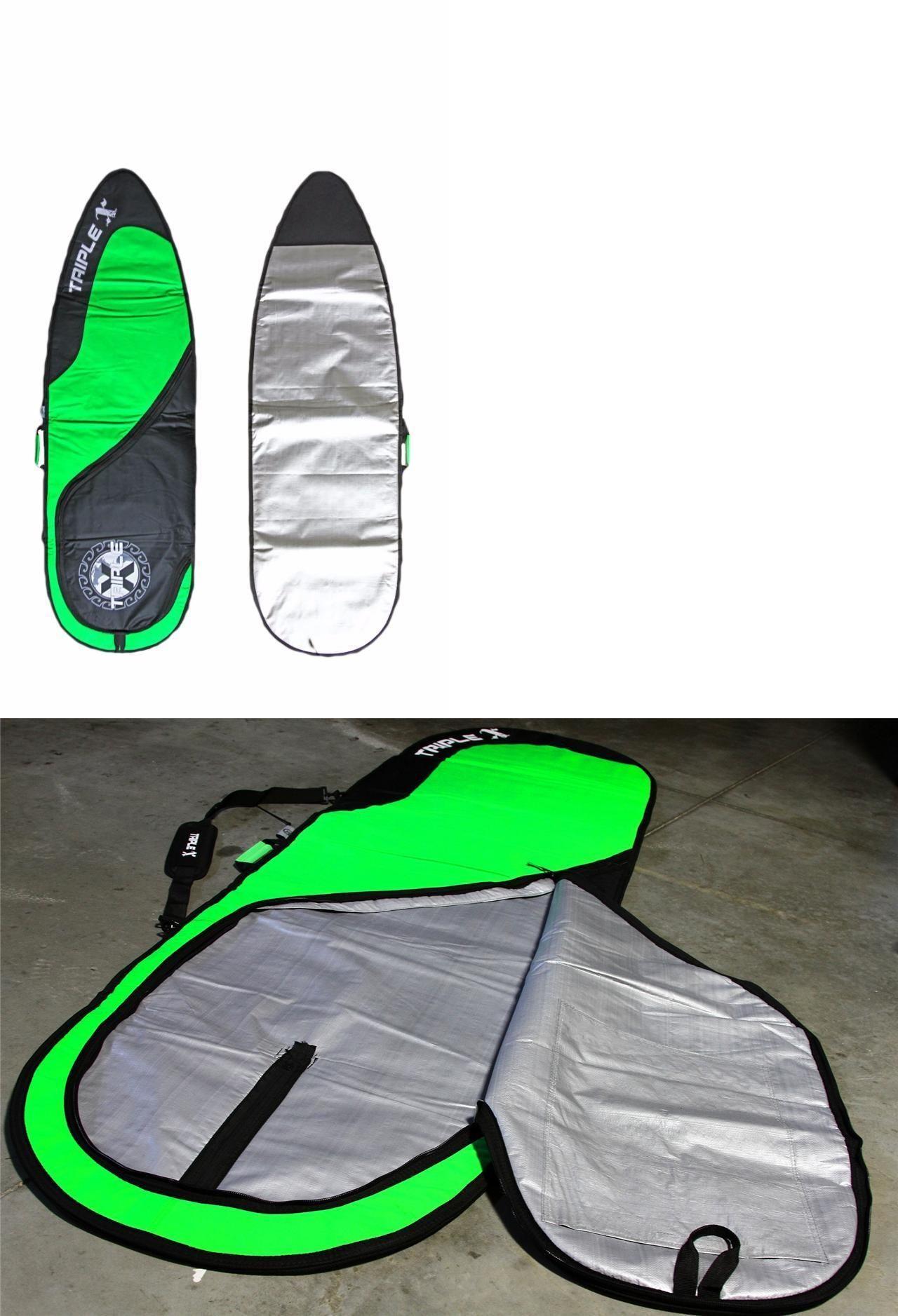 Board Bags and Socks 71165: New Triple X 7 0 Heavy Duty Shortboard Fishboard Surfboard Bag Green -> BUY IT NOW ONLY: $69.99 on eBay!