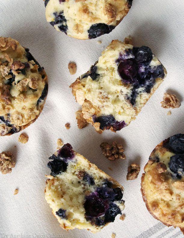 Blueberry Orange Breakfast Muffins