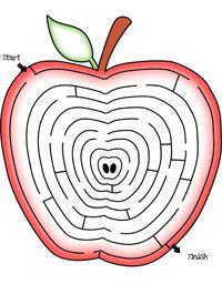 fun mazes for kids apple   Mazes for kids, Maze, Kids prints