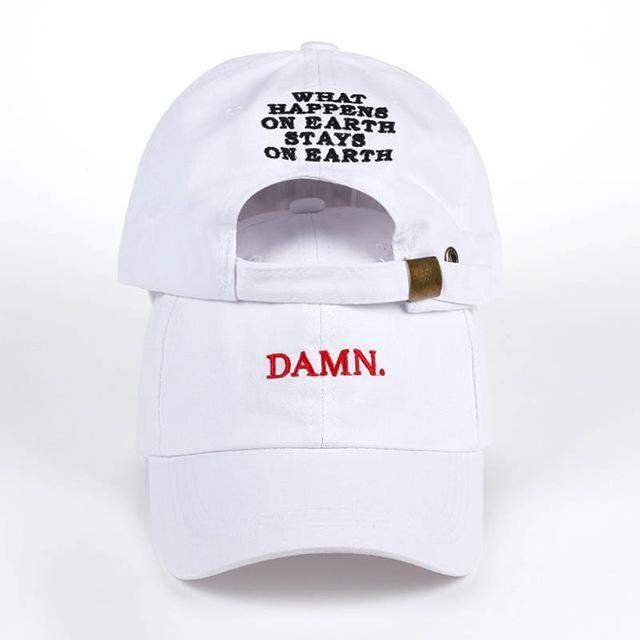 9abfc54de21 Kendrick Lamar Inspired- DAMN. Baseball Cap