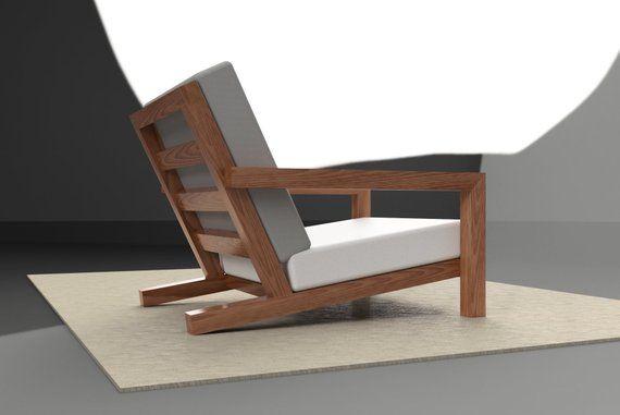 Lounge Stoel Modern.Luxe Design Lounge Stoel Voor In De Tuin Bouwtekening