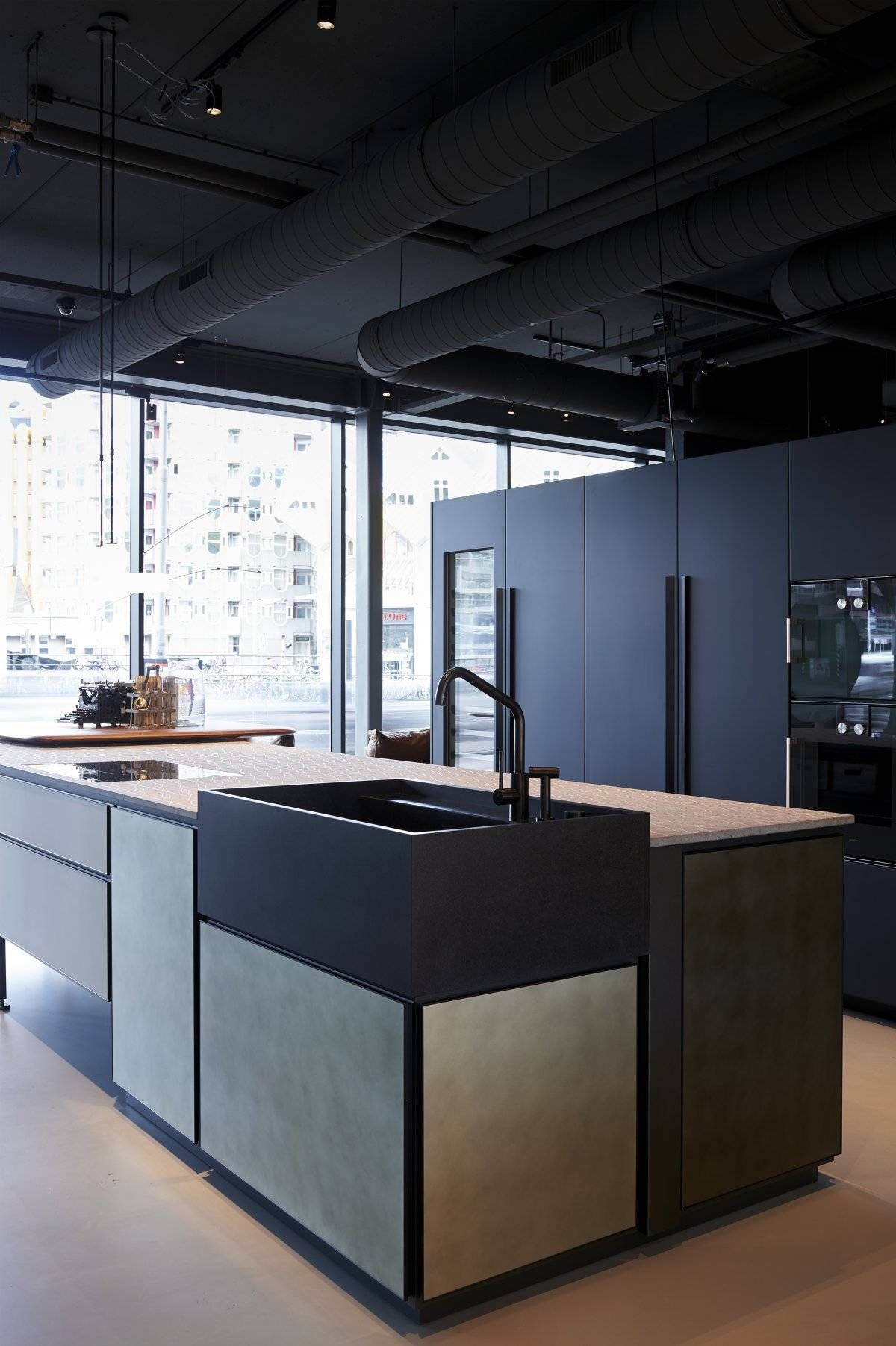 Cosmo condo kitchen showroom paris kitchens toronto - Boffi Studio6