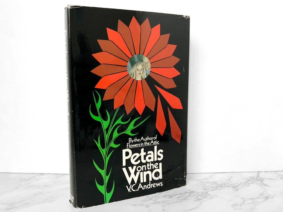 Petals On The Wind By V C Andrews Book Club Edition 1980 Etsy In 2020 Petal On The Wind Petals Book Club