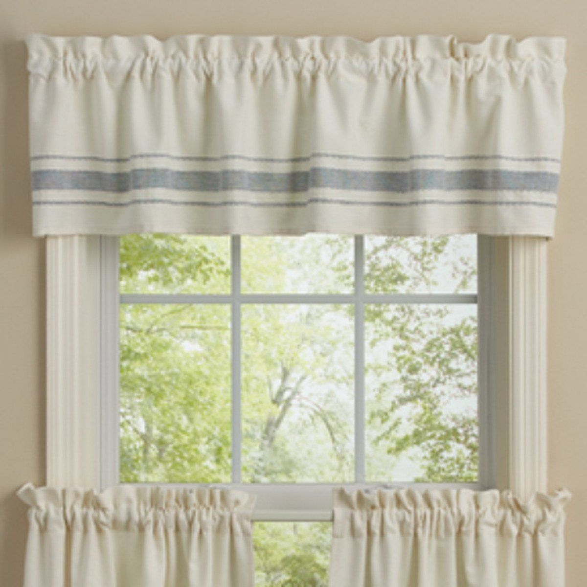 Park Designs Summer Breeze Unlined Valance Country Primitive