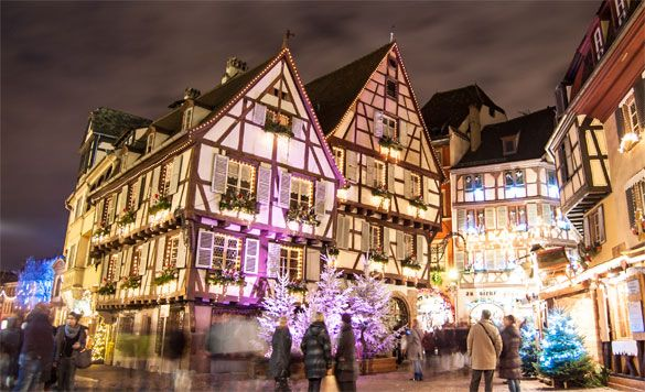 Colmar Christmas Markets France.Colmar S Christmas Market Is By Far The Most Beautiful In