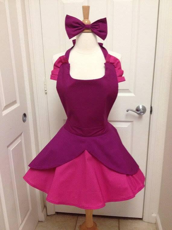 Cinderella's step sister Anastasia inspired apron