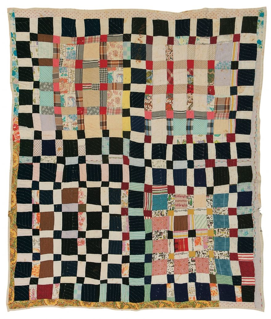 Gee's Bend: One Patch quilt,  c. 1950, by Magdalene Wilson.   Souls Grown Deep Foundation