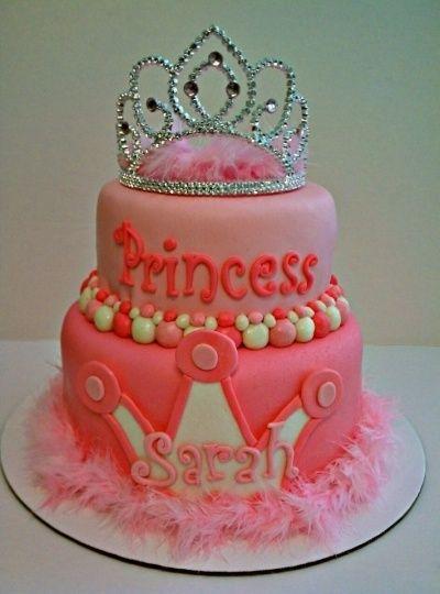 Little Girl Birthday Cake Idea Aaa It Has My Name On Lol