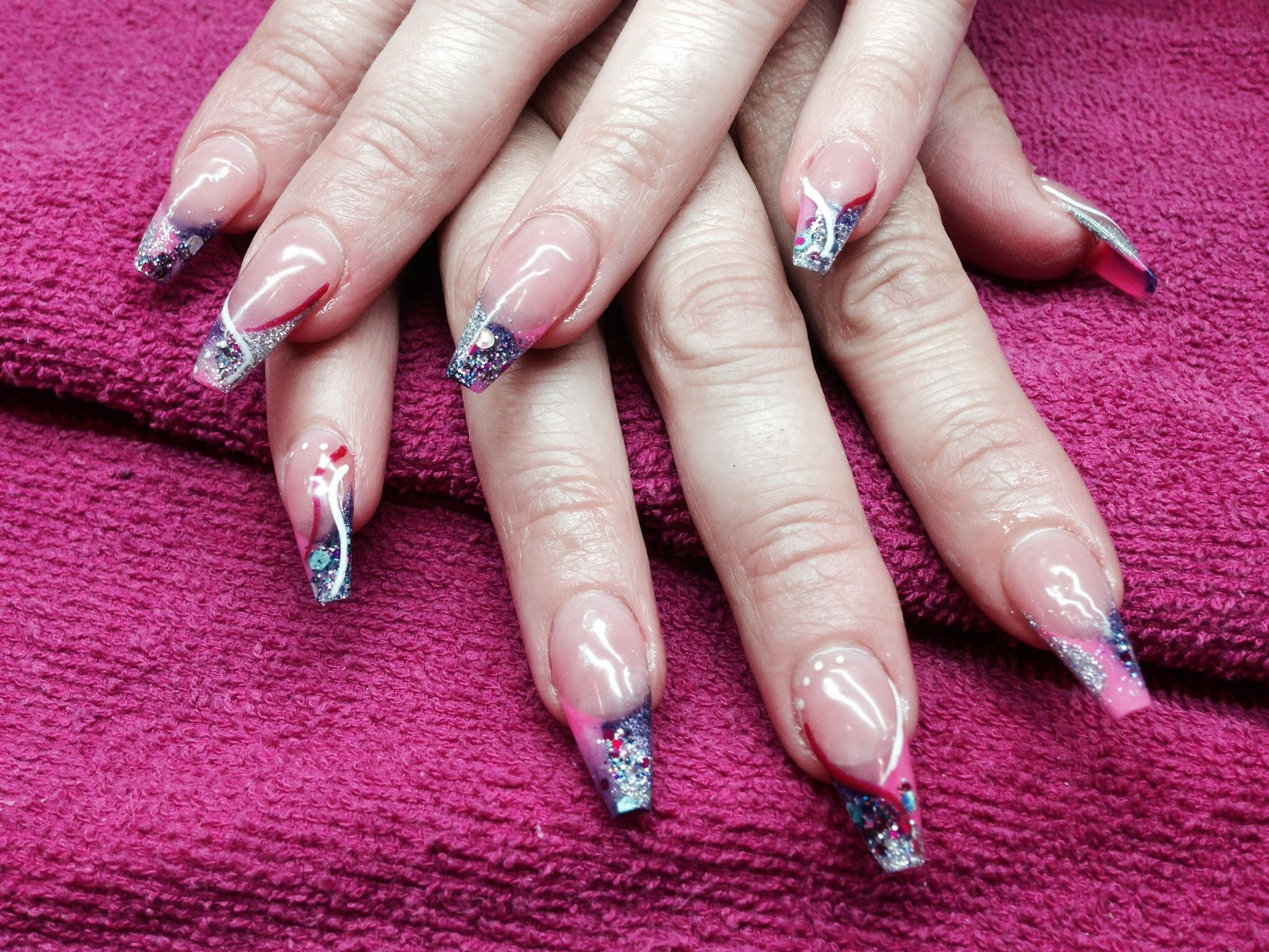 Sculpted nails   Nails by deedee   Pinterest   Nails