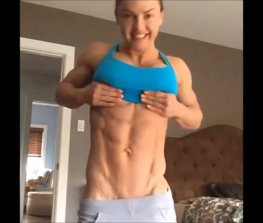 Her.missing her muscular female butt attractively woman