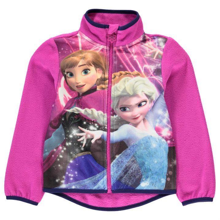 Lasten Disney Frozen fleecetakki