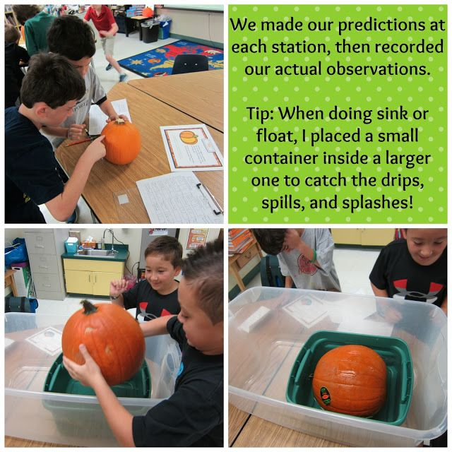 Sunny Days in Second Grade: Plan for Pumpkins -