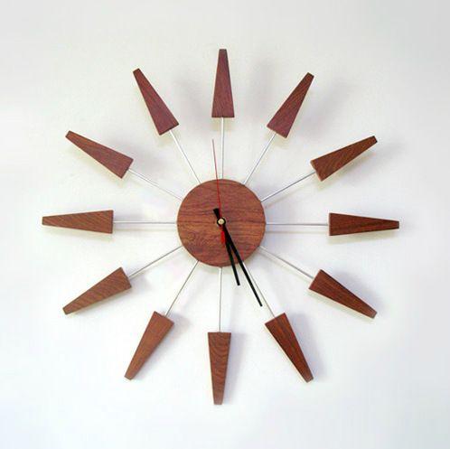 Handcrafted Wall Clocks Sfeenks Com In 2020 Wood Clock Design