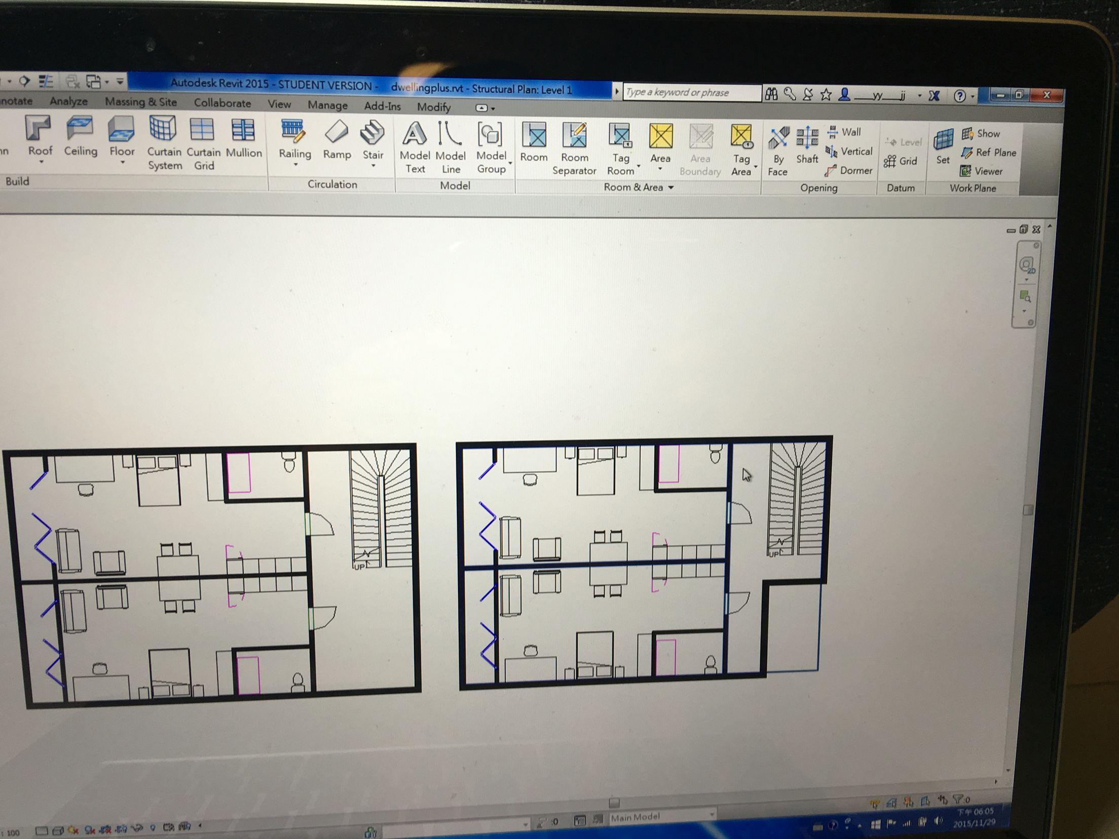 Week One Development Plan Roof Ceiling Ceiling Curtains Dormers