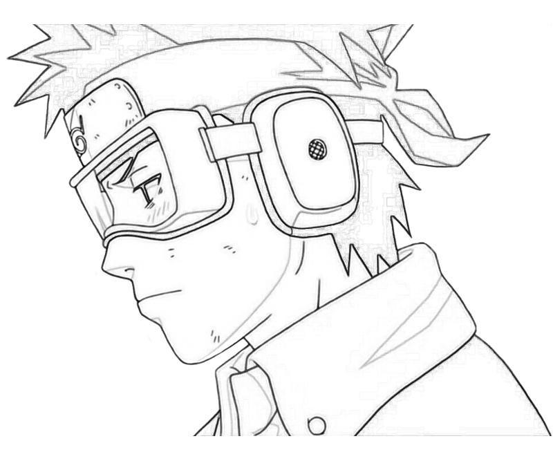 Naruto Obito Coloring Pages Desenhos Para Colorir Naruto