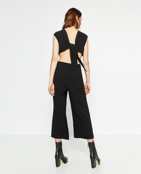 4273d61bcc0 Image 4 of CROPPED JUMPSUIT from Zara