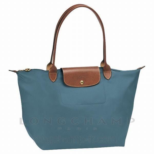Le Pliage Sac Longchamp achats Bleu canard 1899089 | Sac