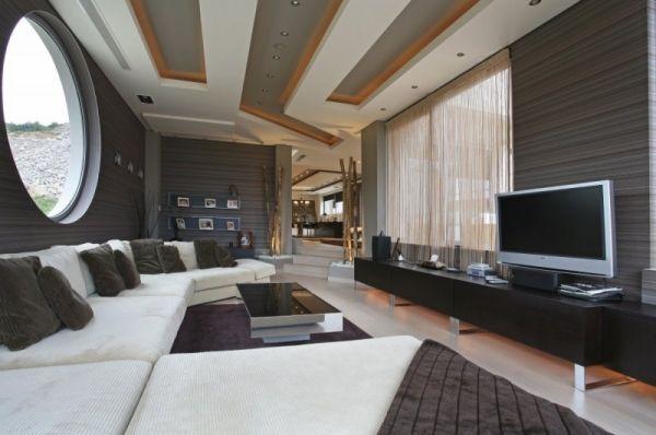 Wohnzimmer Decken Gestalten Der Raum In Neuem Licht Wohnzimmer - Wohnzimmer decken gestalten