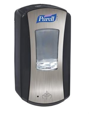 Purell Chrome Ltx Touch Free Automatic Dispenser Works With Ltx