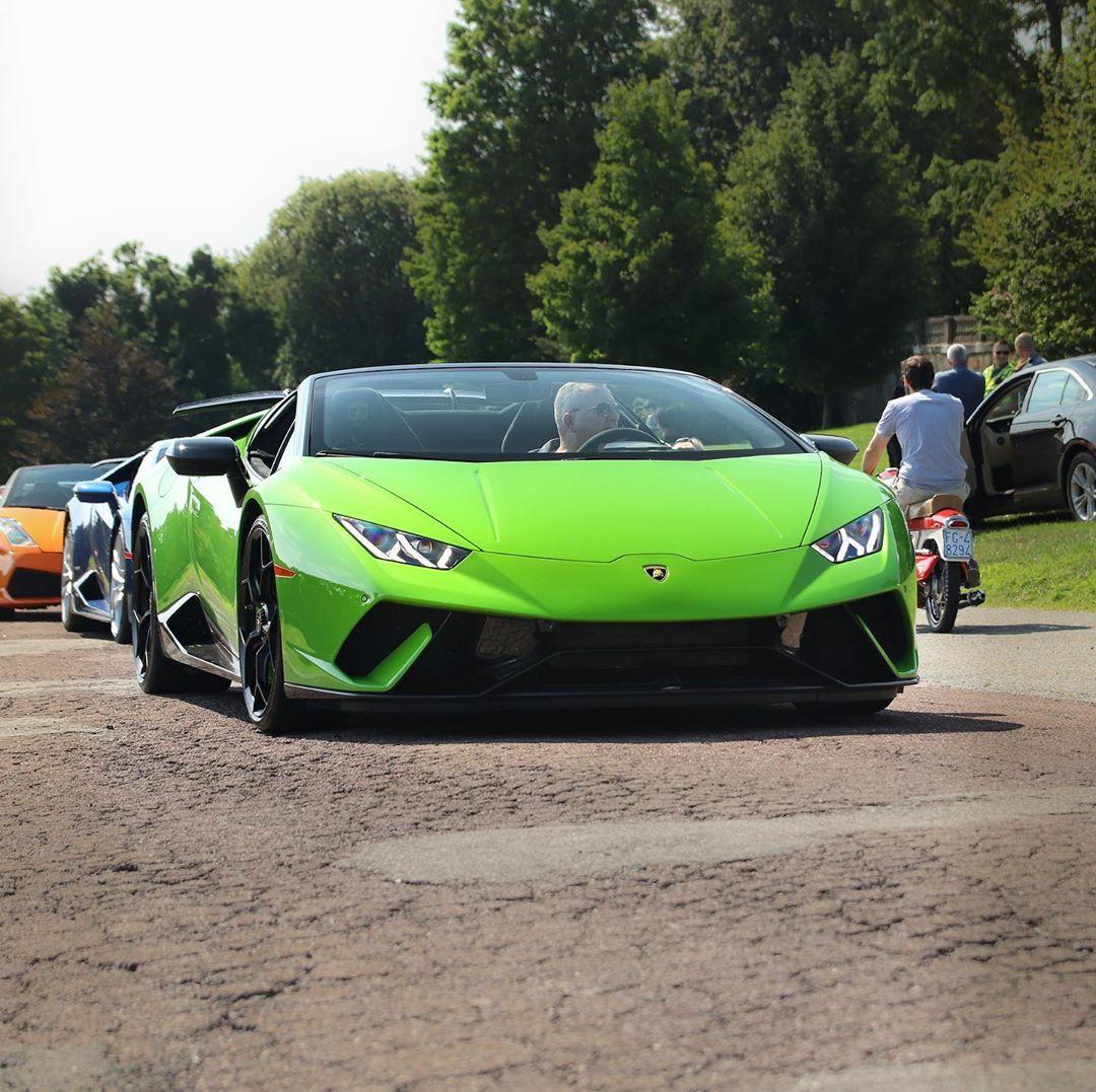 Wishing it was Spyder weather  Car : Lamborghini Huracan Performante Spyder