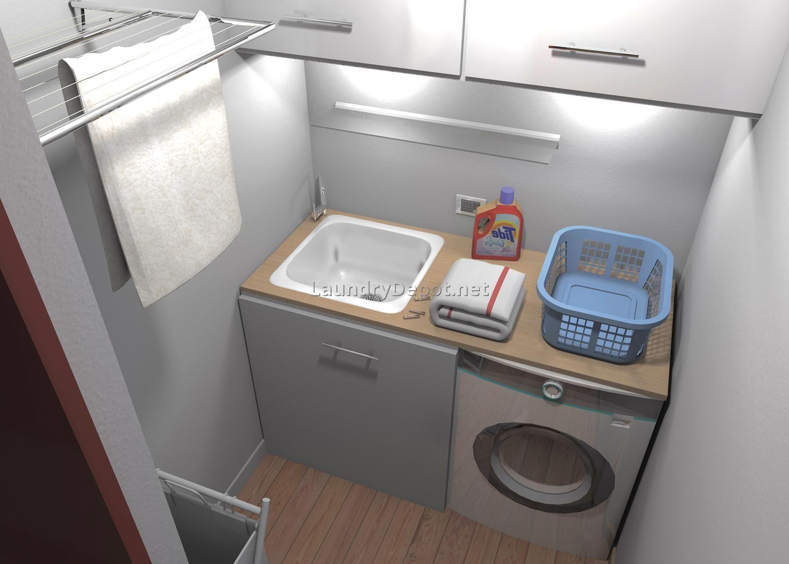 small-laundry-room-sinks-11.jpg (1600×1143) | Wet room ideas ...