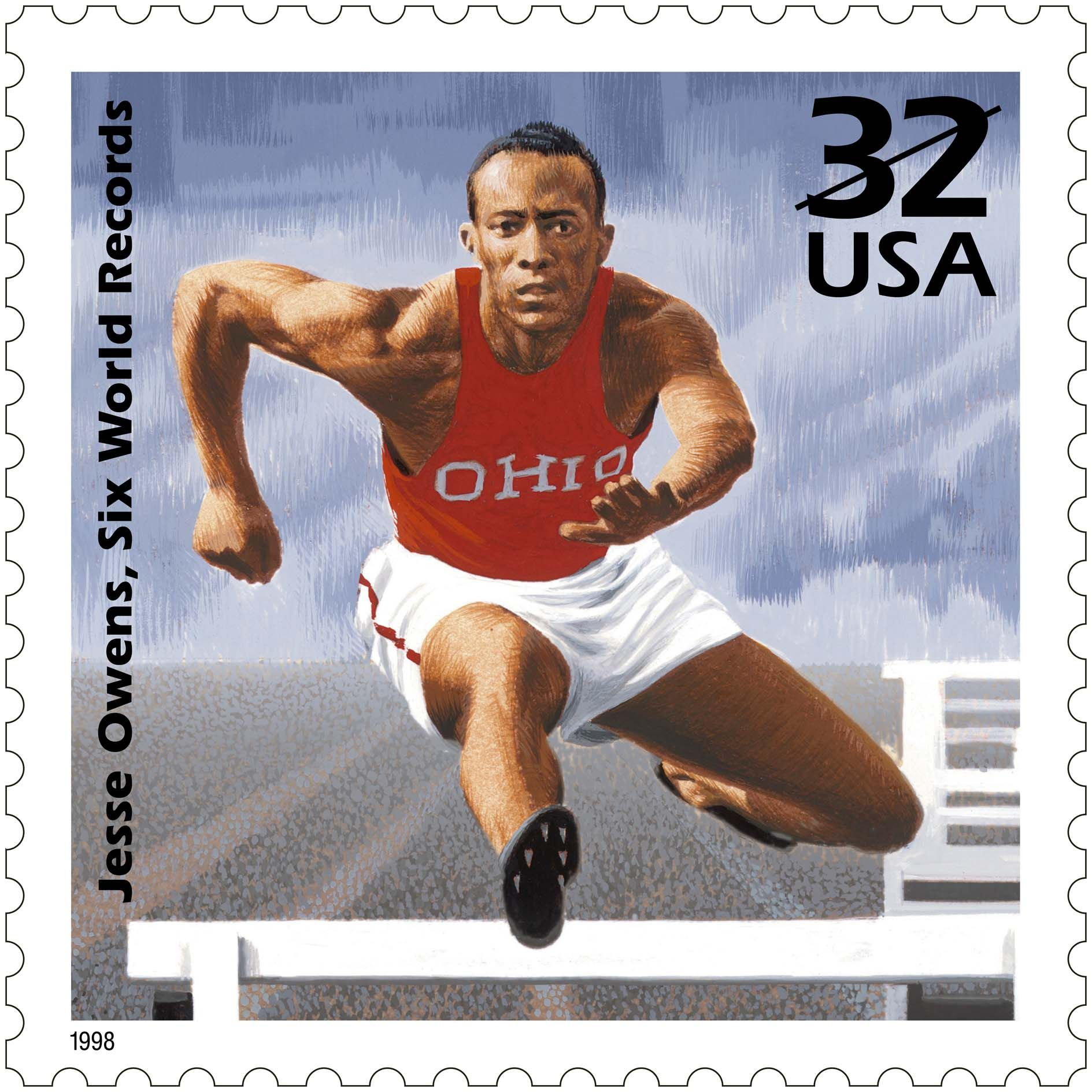 greatest us stamp celebrate the century usps stamp of til jesse owens an african american track athlete who won a gold medal at the 1936 nazi olympics said hitler didn t snub me it was fdr who snubbed me