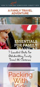 Family travel gift ideas for the wanderlust, globetrotting family. Great gift id...,  #Family #gift #globetrotting #Great #Ideas #Travel #wanderlust