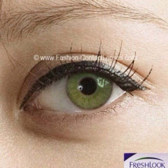 64975419203 Gemstone Green Colored lenses Gemstone Green FreshLook colored contact  lenses plus a free Case ‼️Can be worn until 12-2019‼ They are brand new.