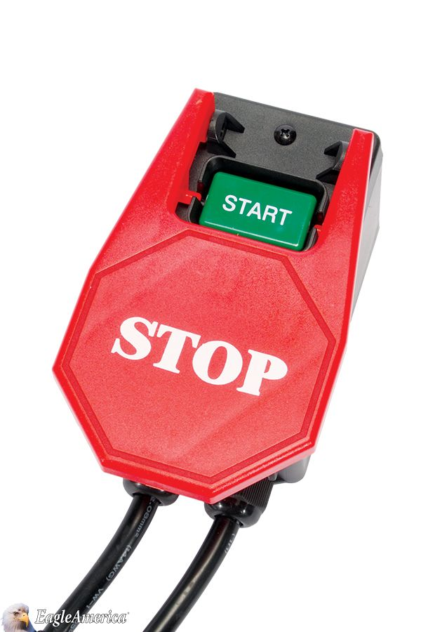 The stop paddle is very easy to find and can be positioned near your and can be positioned near your hip or knee allowing you to keep your hands on your work piece at all times this switch is ideal for router tables greentooth Images