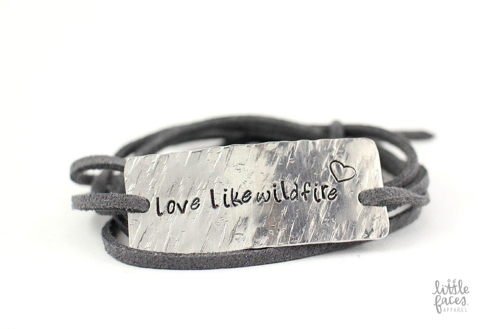 Love Like Wildfire Wrap Bracelet