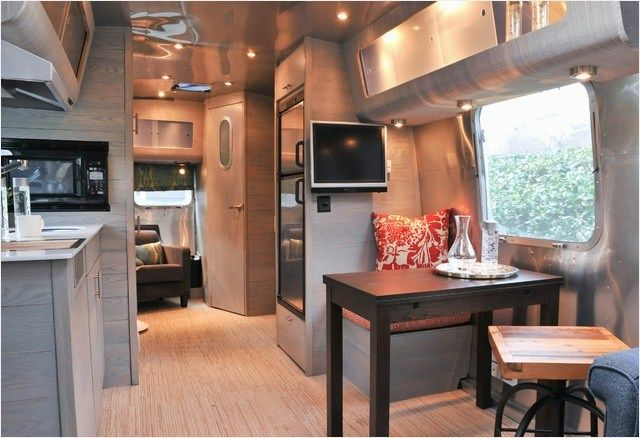 perfect small camper decorating ideas austin home group this is so amazing airstreams also rh pinterest
