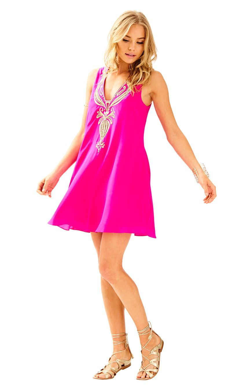 a5e6d2ab773793 Owen Silk Trapeze Dress | dresses | Dresses, Swing dress, Easter dress