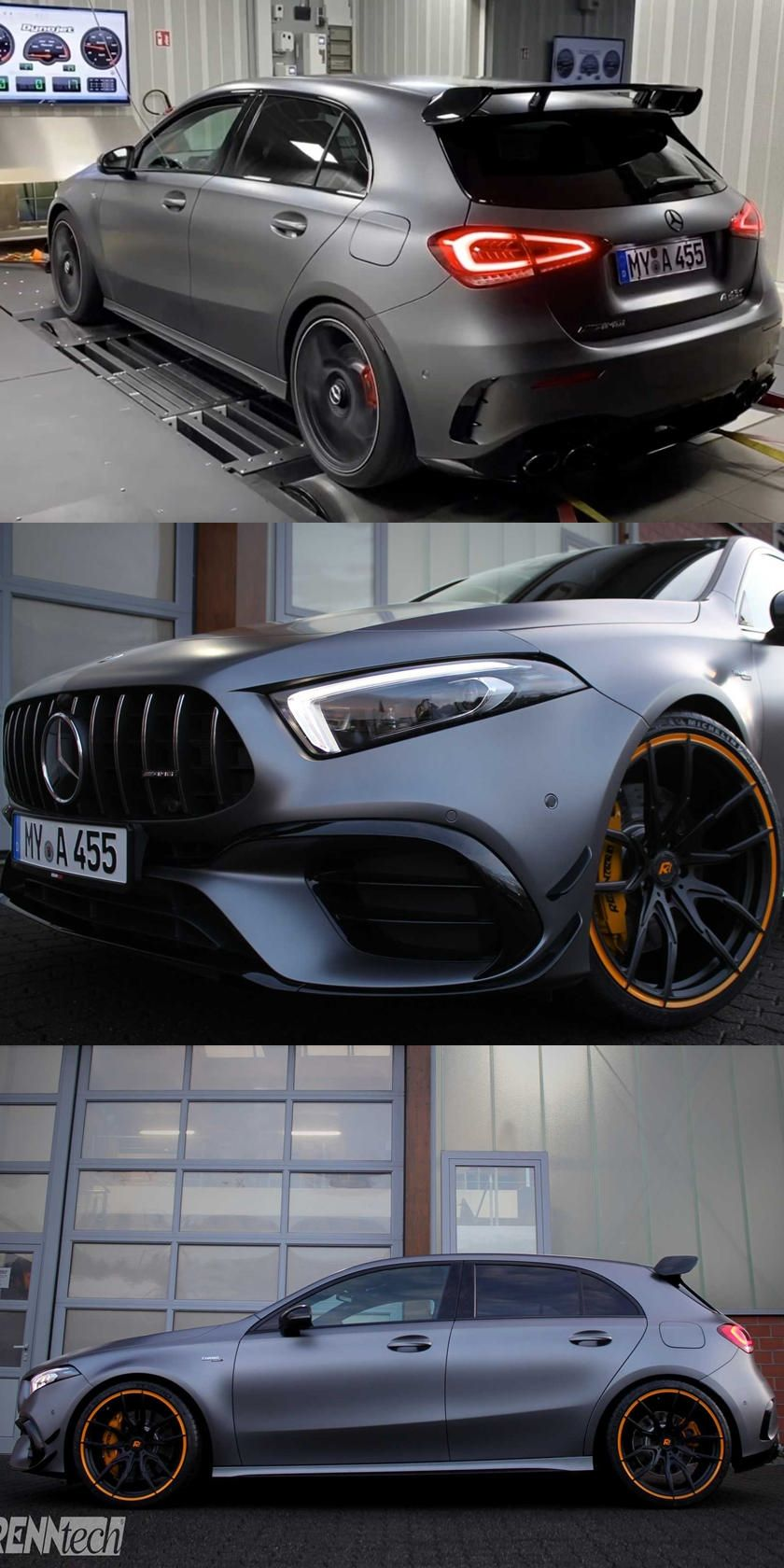 Mercedes Amg A45 S Transformed Into 600 Hp Monster The Mercedes Amg S Hot Hatch Just Got Even More Extreme In 2020 Mercedes Amg Mercedes Car Bmw Sports Car