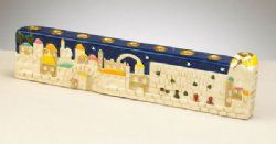 Chanukah may be over, but when you are looking for a great Bar or Bat Mitzvah gift, check out our adorable ceramic Chanukah Menorah!