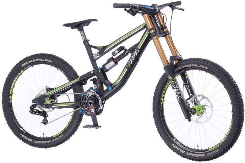 Sneak Peek 2014 Rose The Unchained Dh Bike Mountain