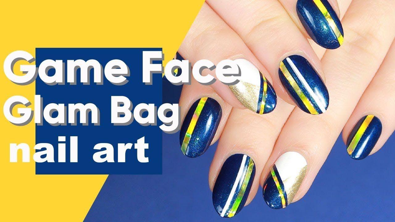 January Glam Bag Inspired Nail Art Tutorial ipsy Nailed