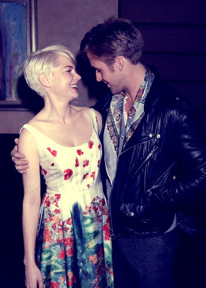coupla of my favs - Michelle Williams with Ryan G.