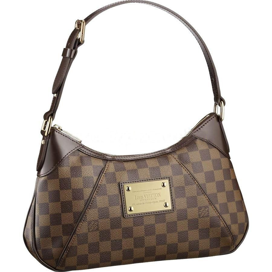 5ca77015fa14 Louis Vuitton Thames PM Damier Ebene Canvas N48180