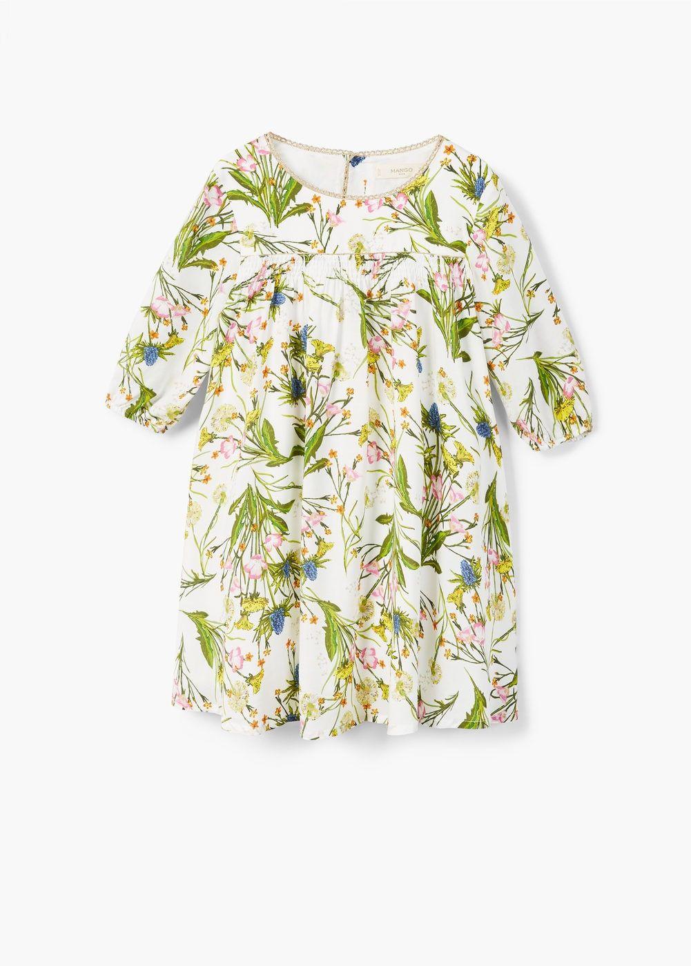 d142f95ac5 Nyomott virágmintás bő ruha - Lány   Megvásárolandó dolgok   Pinterest