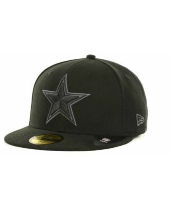 1674bb7173f New Era Dallas Cowboys Basic 59FIFTY Fitted Cap - Black 7 3 4 in ...