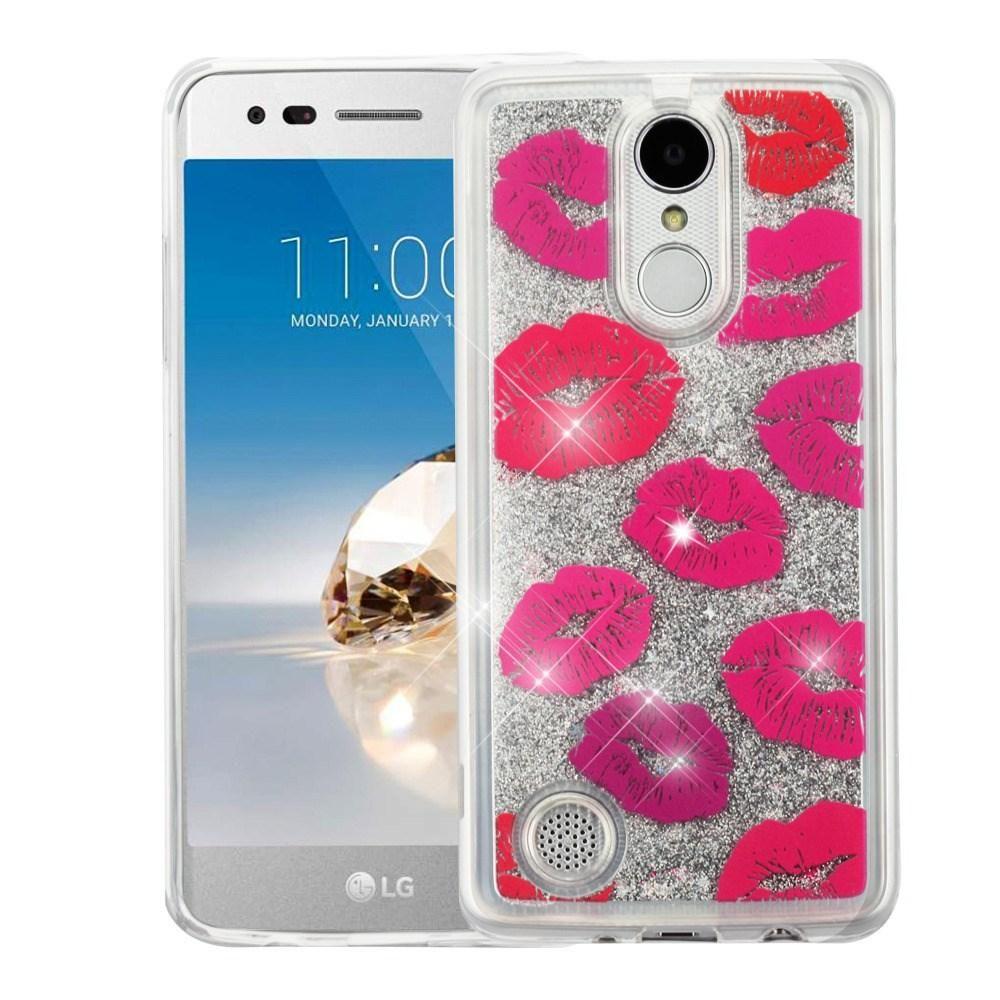 Quicksand Glitter Lg Aristo Phoenix 3 Fortune Case Kisses
