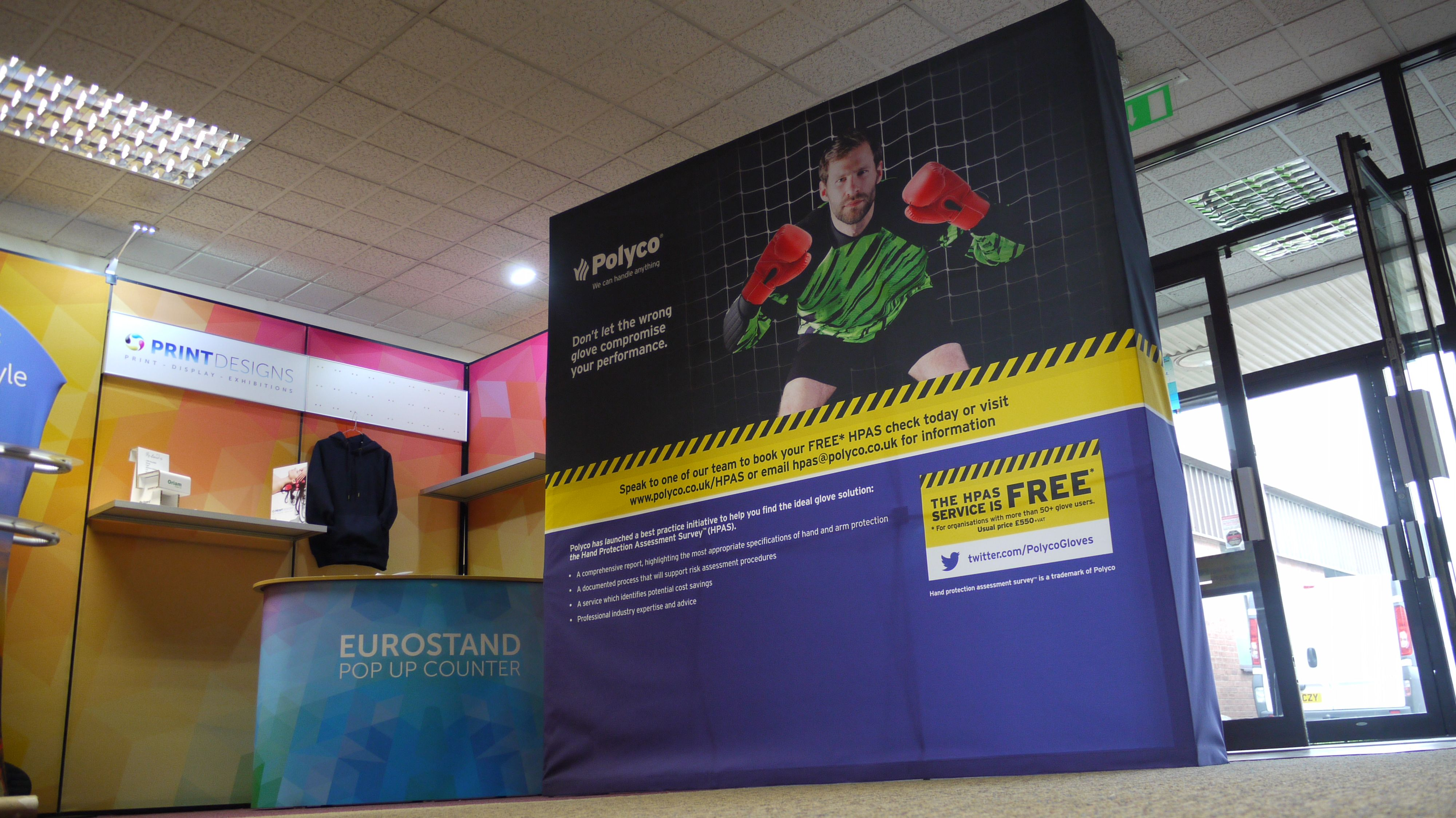 Fabric Exhibition Stand Yet : Impact hop up display stand hop up display stands fabric