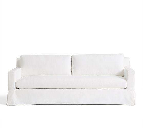 Sofa You Love Thousand Oaks: York Square Arm Slipcovered Sofa