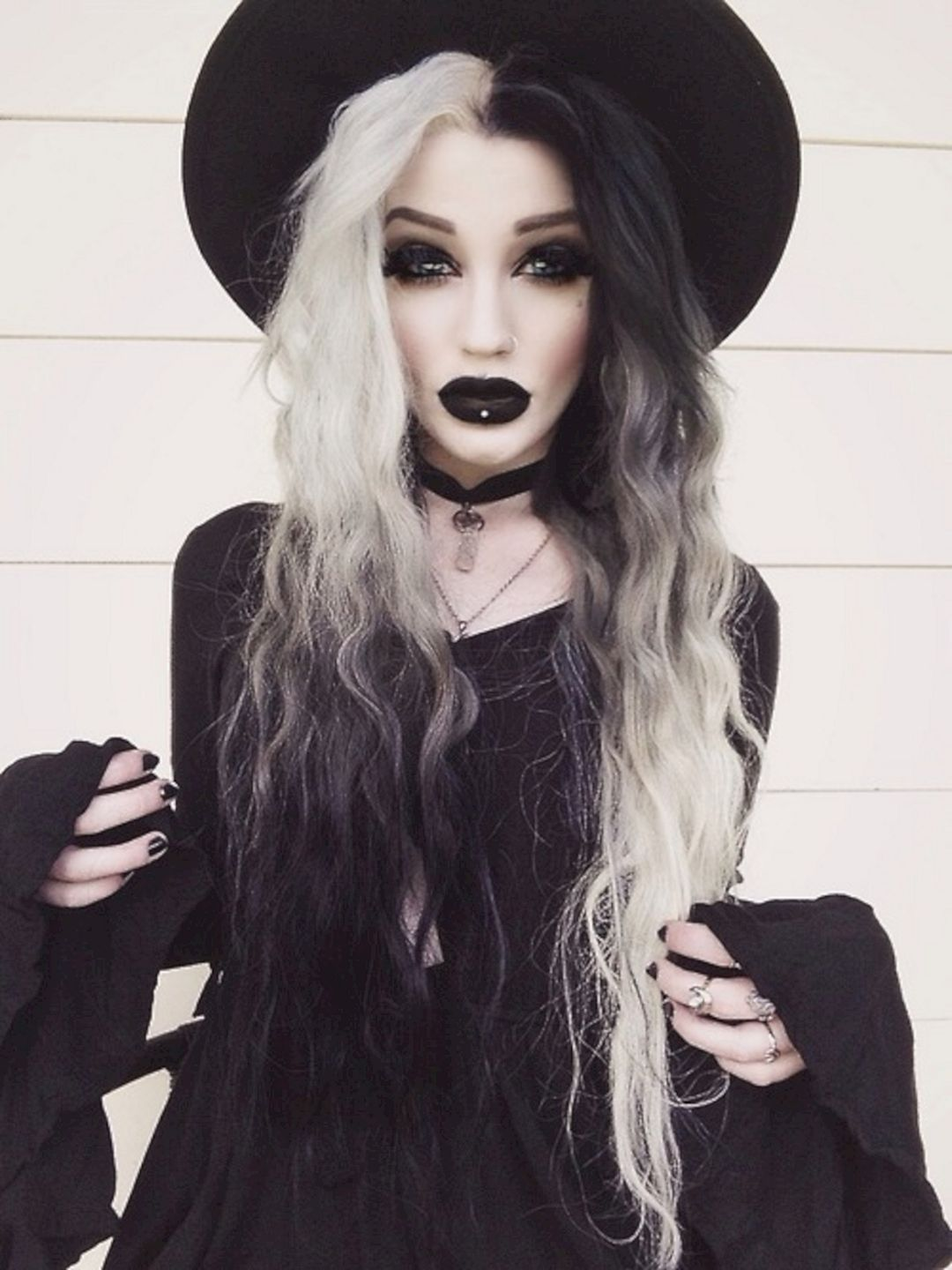 20+ Black Lipstick For Women Looks Cool Witch