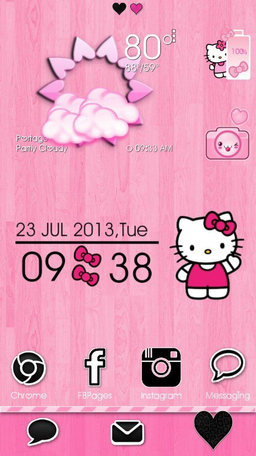 Stay Classy Pink Go Launcher Theme And Android Homescreens Android