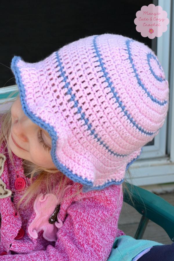 Simple & Sweet Sun Hat | Handarbeiten, Anleitungen und Häkeln