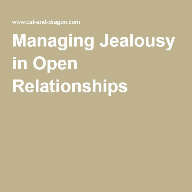 Dealing with jealousy in open relationships