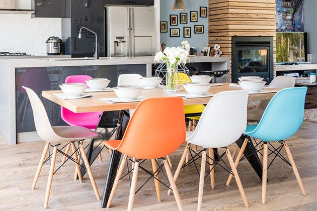 House Rules Replica Eames Dsw Chairs From Sokol With Images